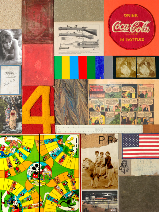 Homage to Rauschenberg IV by Sir Peter Blake