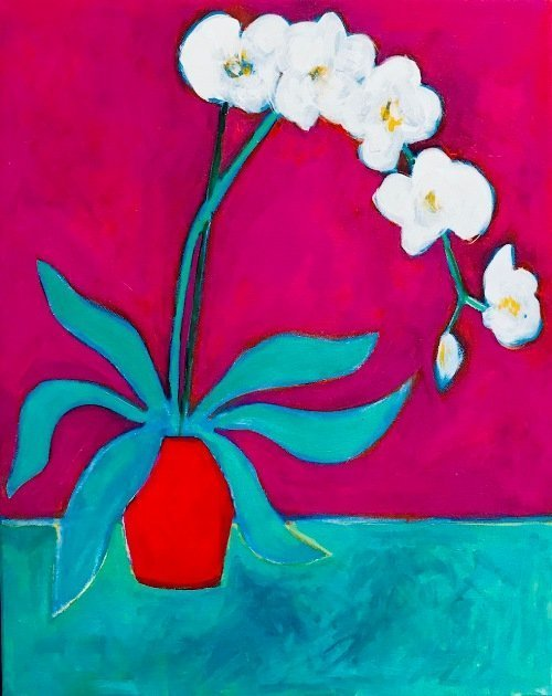 'The Orchid' 2016 by John D Edwards