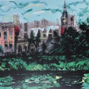 Kelham Hall by John Piper