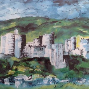 4 Kidwelly Castle by John Piper