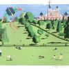 Kite Flying, Greenwich Park_Paul Hogarth