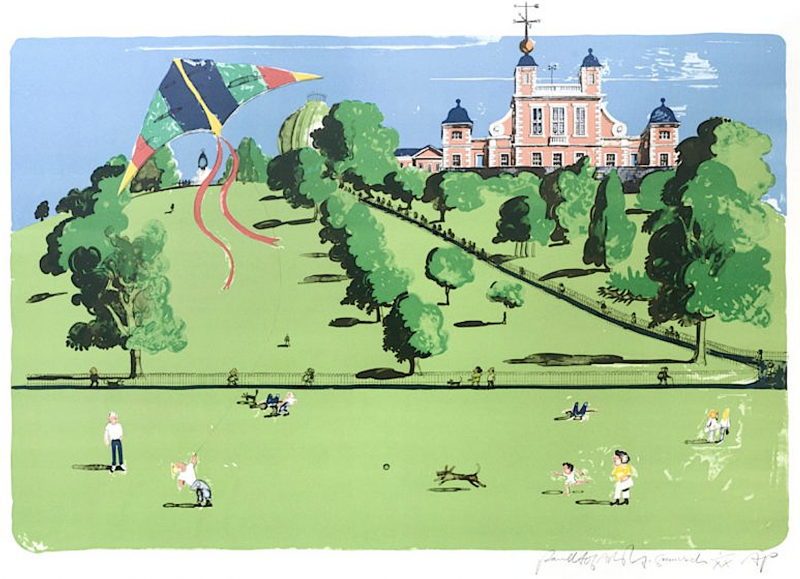 Kite Flying Greenwich Park