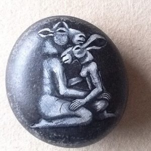 kneeling-minotaur-and-lady-hare-by-sophie-ryder