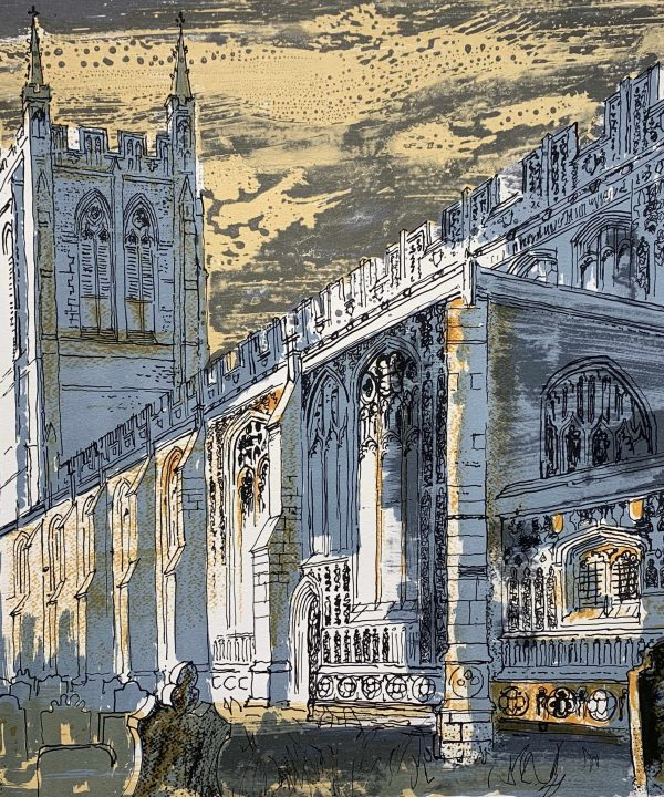 Long Melford Church by John Piper