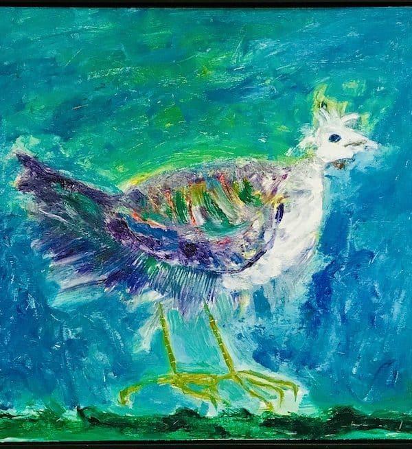 'Mother Bird' 1985 by John D Edwards