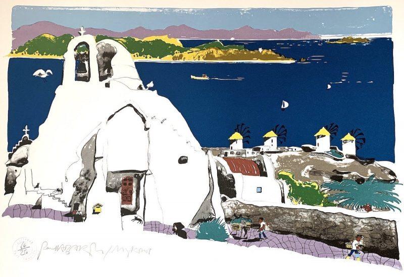 Mykonos by Paul Hogarth