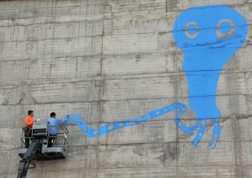 Never Ending Mural_John D Edwards