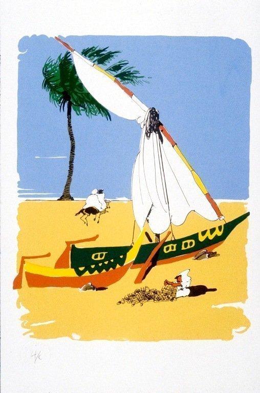 Nile Delta Fishing Boats