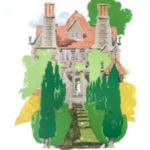 Garsington Manor by Paul Hogarth OBE RA