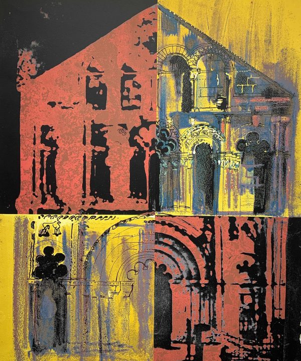 Petit Palais, Pink and Yellow by John Piper