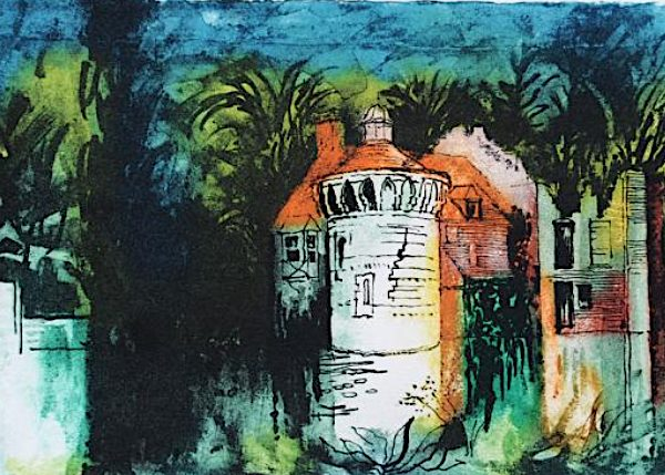 Scotney Castle IV by John Piper