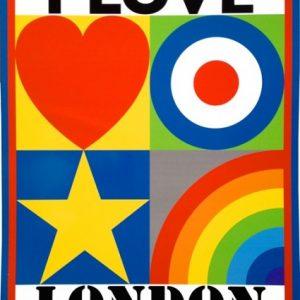 I Love London by Sir Peter Blake