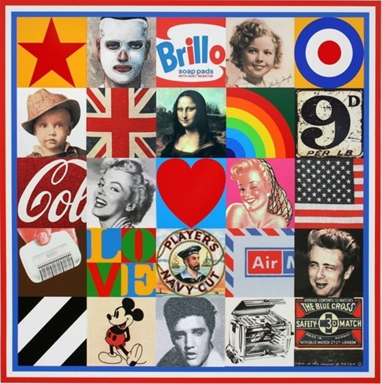 Some of the Sources of Pop Art 7 by Sir Peter Blake