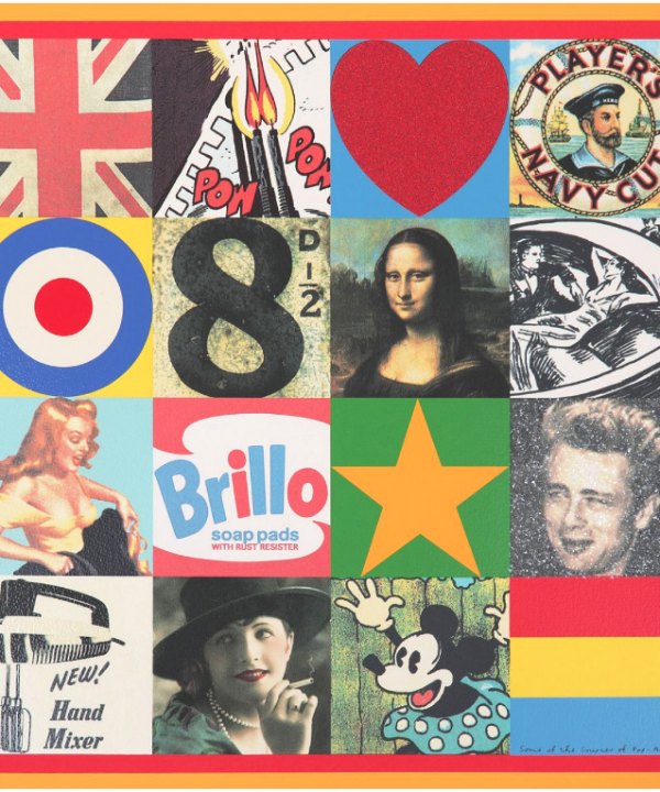 Sources of Pop Art V by Sir Peter Blake