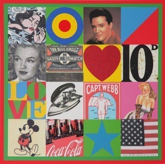 Sources of Pop Art VI by Sir Peter Blake