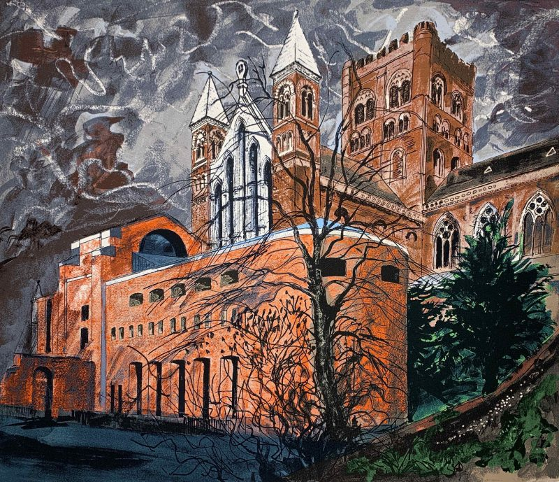 St Albans by John Piper