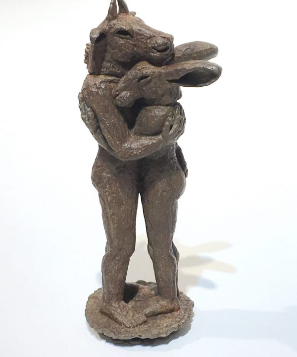 Hugging Miniature by Sophie Ryder
