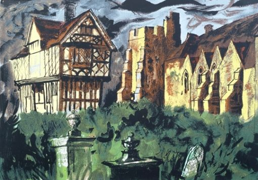 Stokesay Castle by John Piper