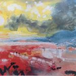 2 Swansea towards the Gower by John Piper