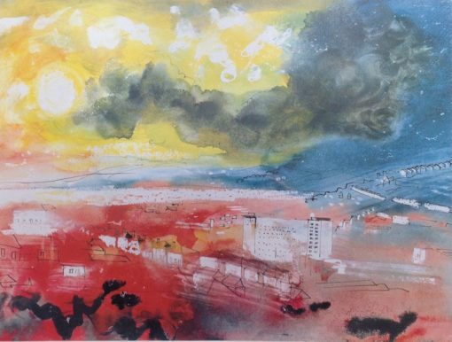 Swansea Towards the Gower by John Piper