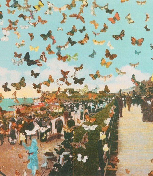 The Butterfly Man in Eastbourne – Homage to Damien Hirst