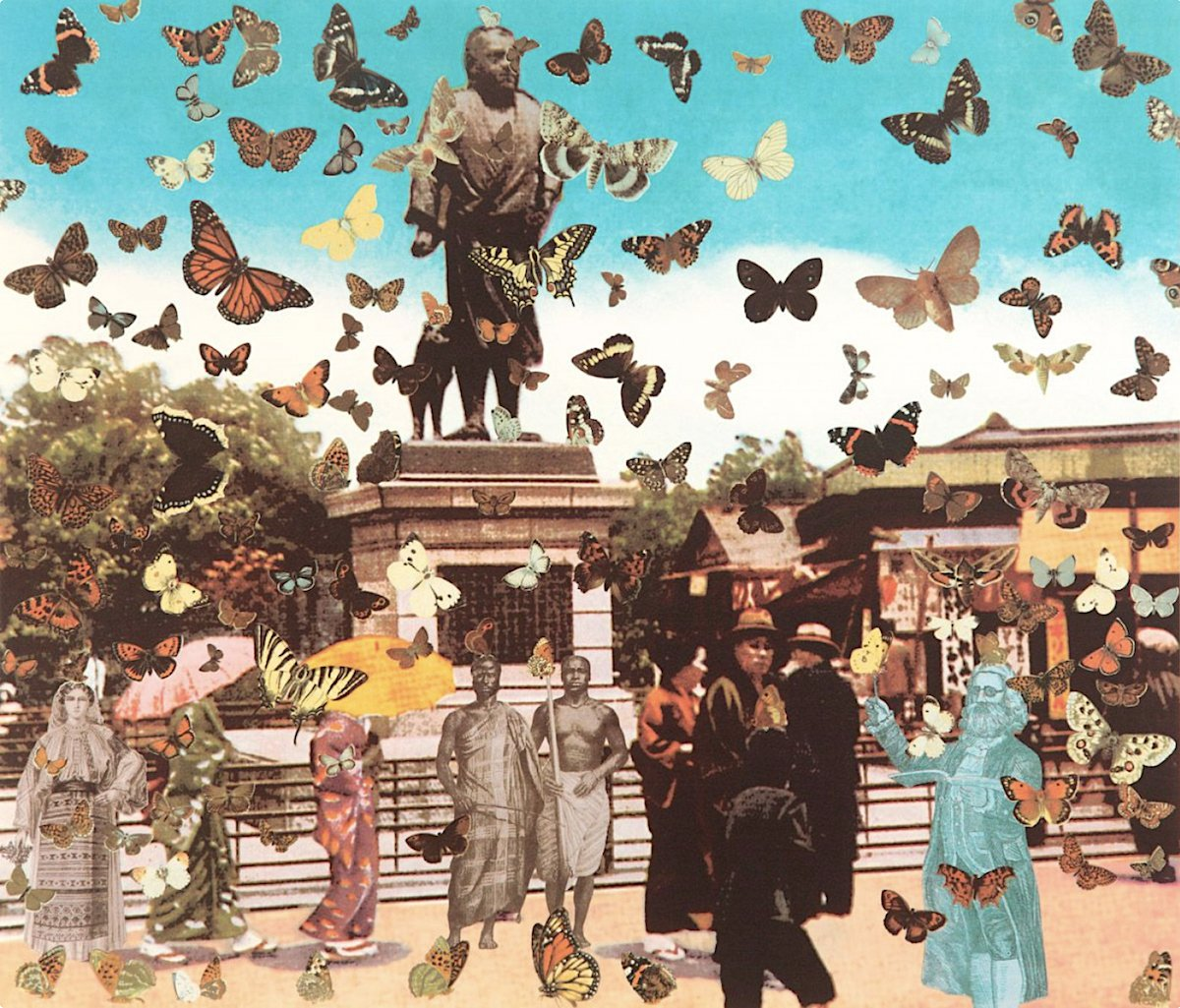 The Butterfly Man in Tokyo_Peter Blake