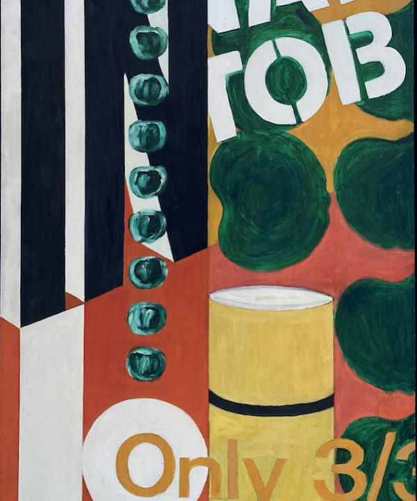 'The First Supermarket Painting' 1965 by John D Edwards
