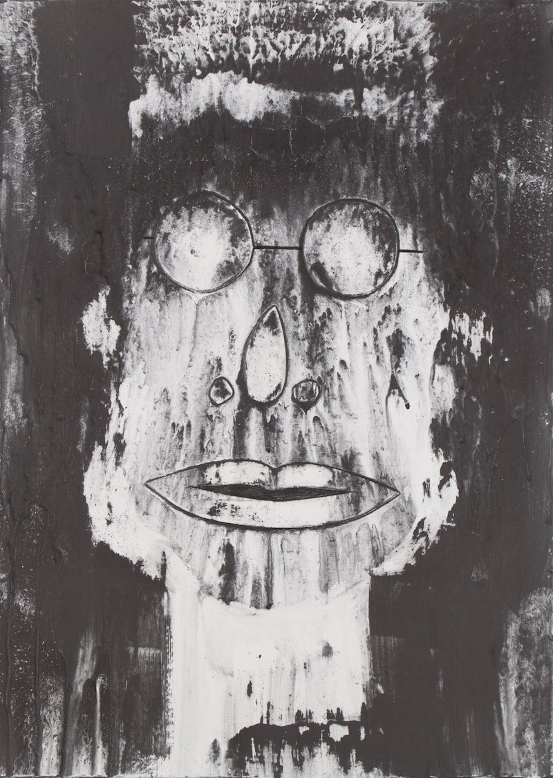 'The Intellectual' from the Spirit Faces by Anita Ford