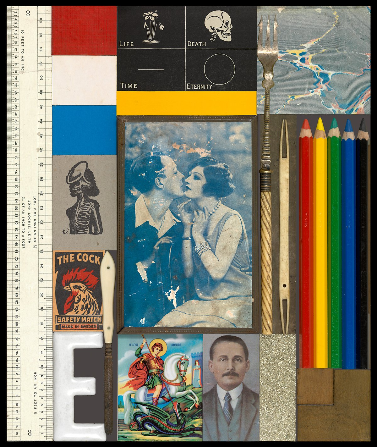 The Kiss_3D Wooden Puzzle Series_Peter Blake