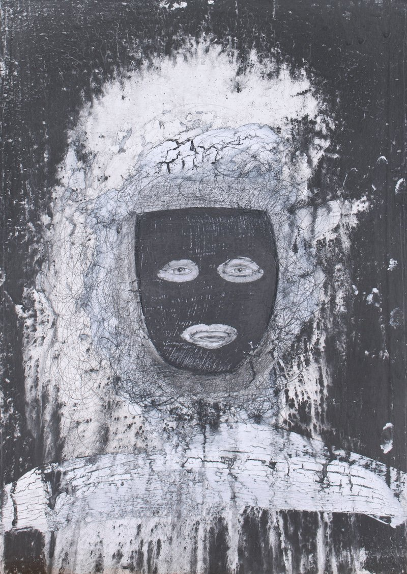 'The Mask' from the Spirit Faces by Anita Ford