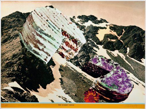 The Summit Ridge by David Ferry