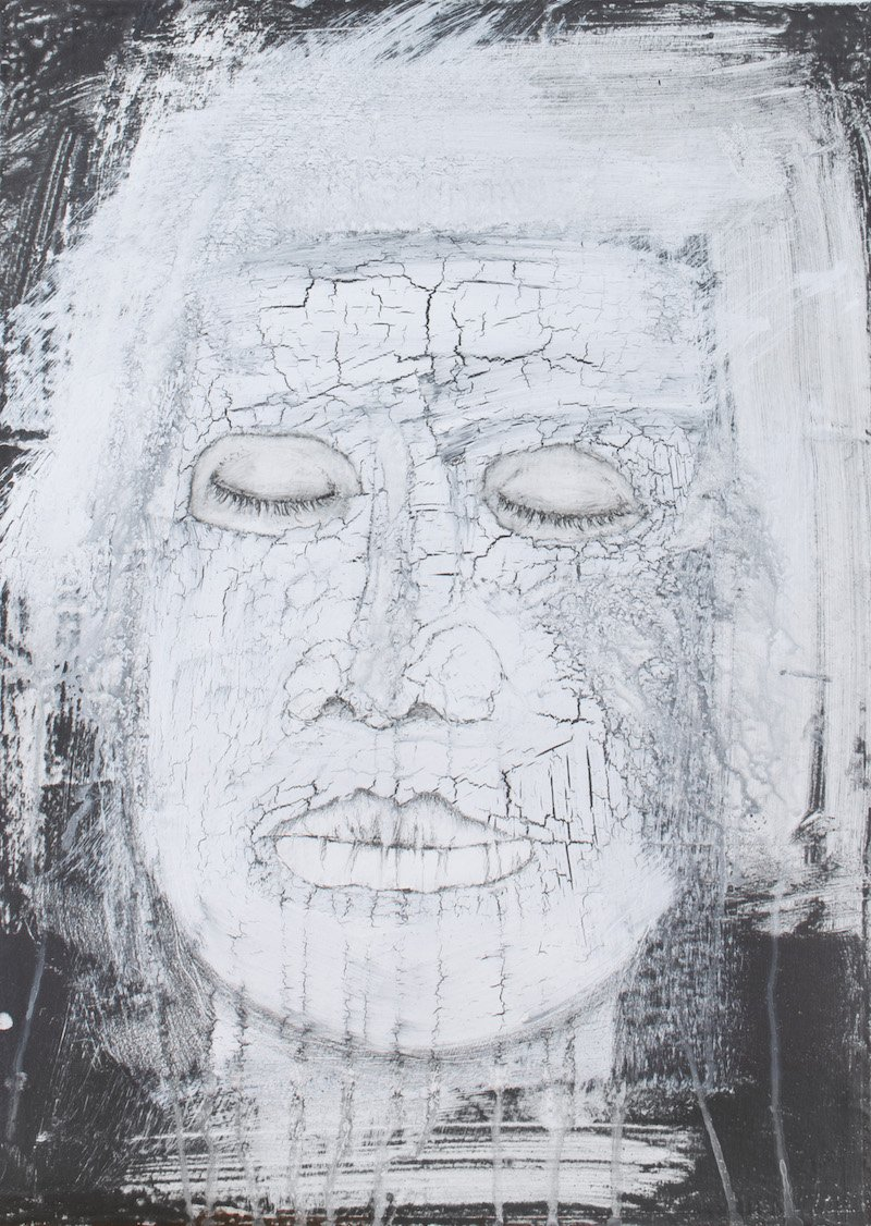 'Tiredness' from the Spirit Faces by Anita Ford