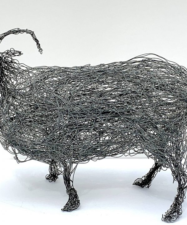 Wire Sheep (1979) by Sophie Ryder