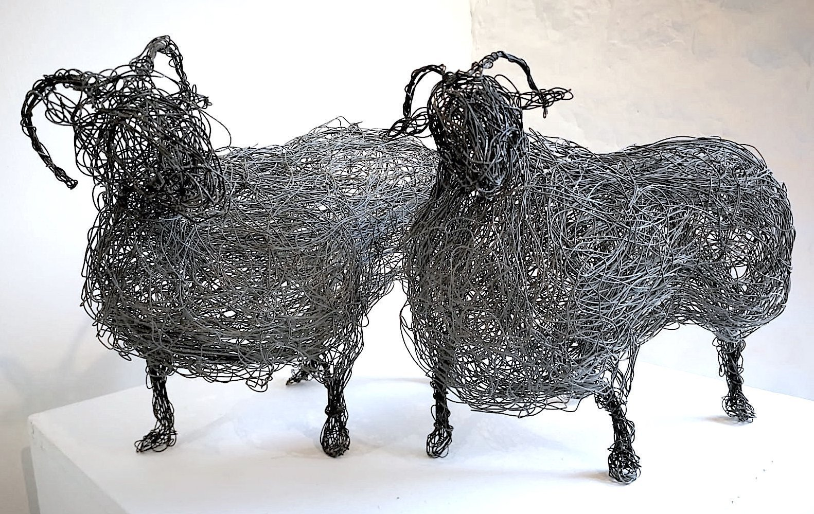 Wire Sheep by Sophie Ryder