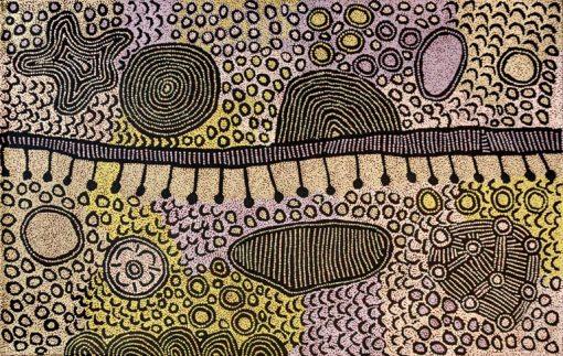 Untitled AAUK4 by Yinarupa Nangala