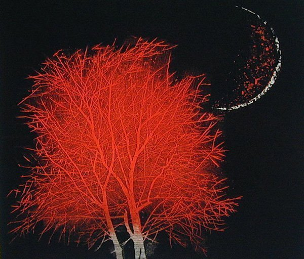 Yoshikazu-Tanaka_moon-and-tree-in-ancient-city-small-red